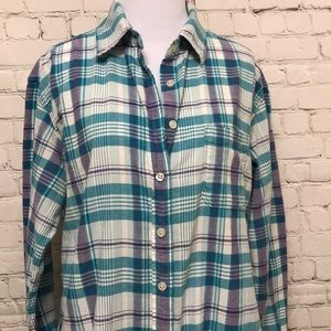 American Eagle Outfitters Tops - Women's American Eagle Boyfriend Shirt